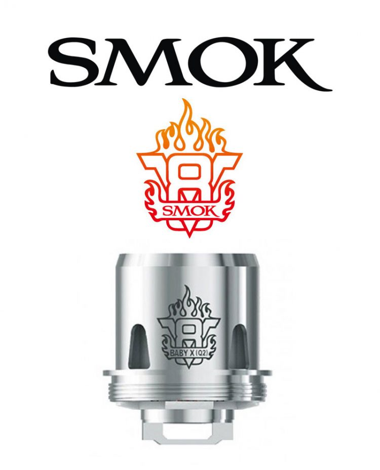 V8 Baby Q2 Coil (3 Pack) Coil Head by Smok