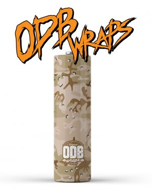 Desert Camo ODB Battery Wraps