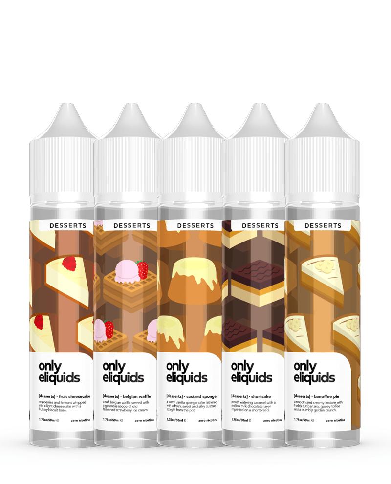 Only E-Liquids Desserts