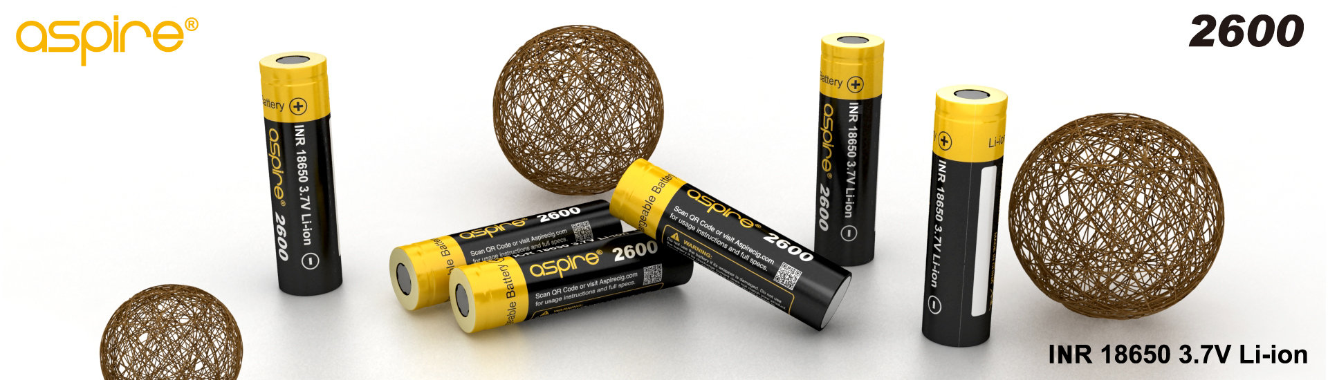 Aspire 18650 Battery(2600mAh)