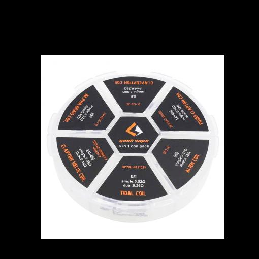 GeekVape 6 in 1 Coil Pack