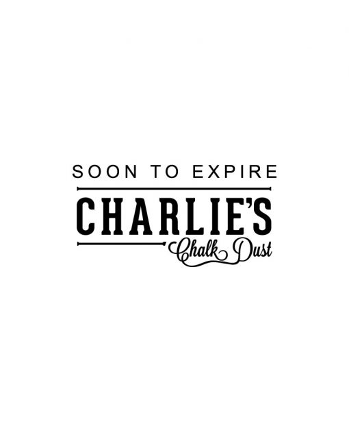 Soon To Expire Charlie's Chalk Dust