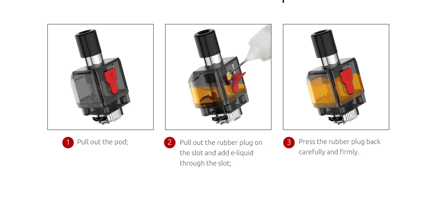 Smok Fetch Pro Kit Filling