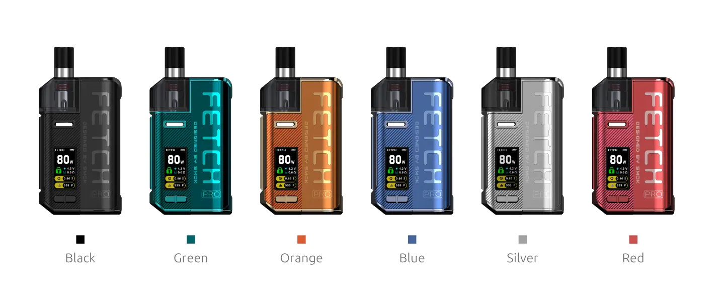 Smok Fetch Pro Kit Colours