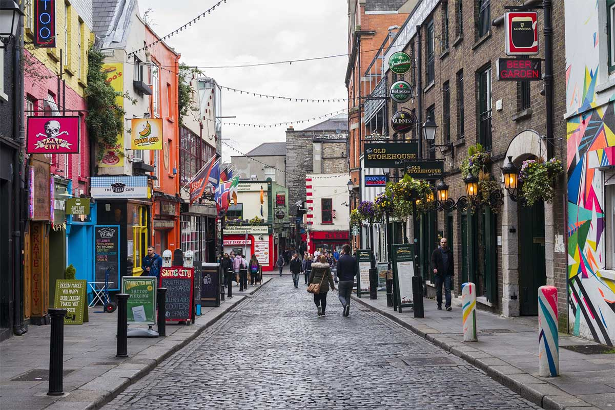 Streets Of Temple Bar