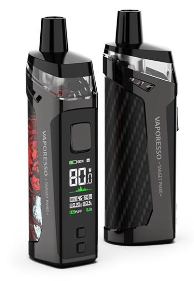 Vaporesso Target PM80 Pod Kit Specs