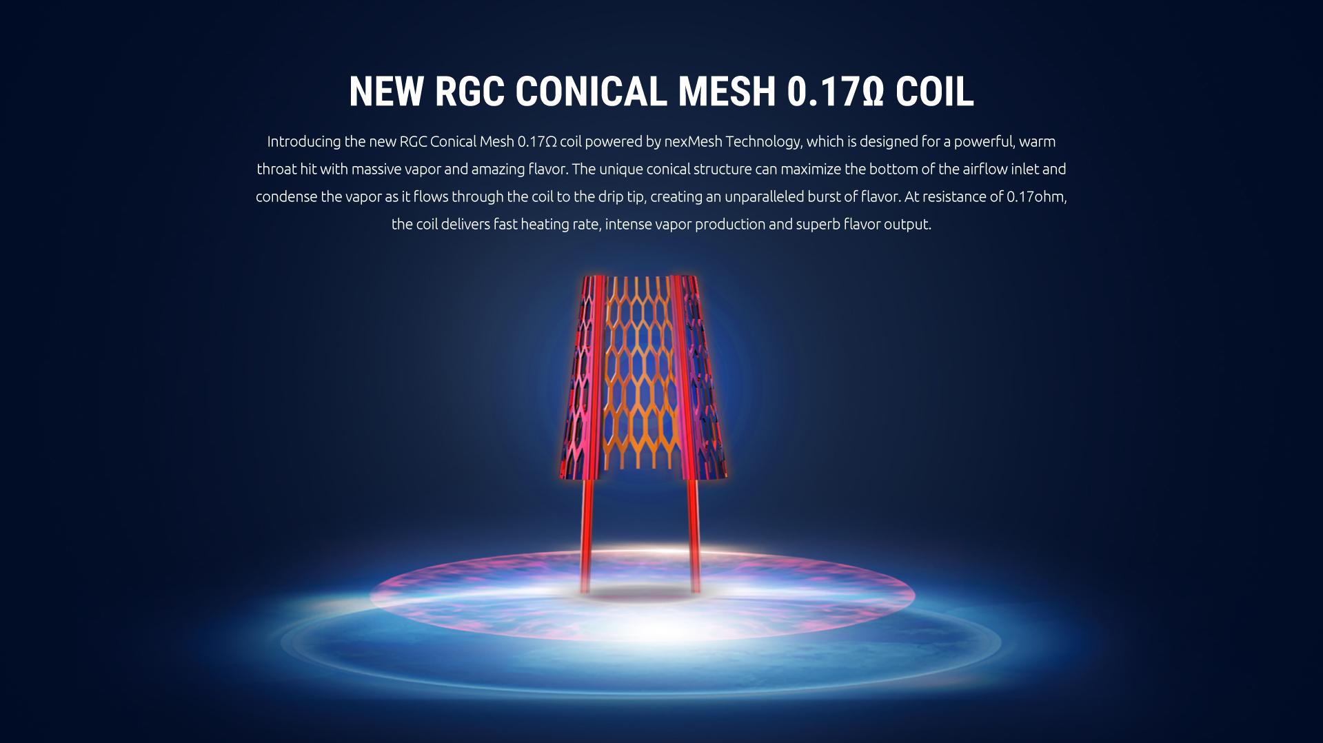 Smok RPM80 Pro Kit Conical Mesh