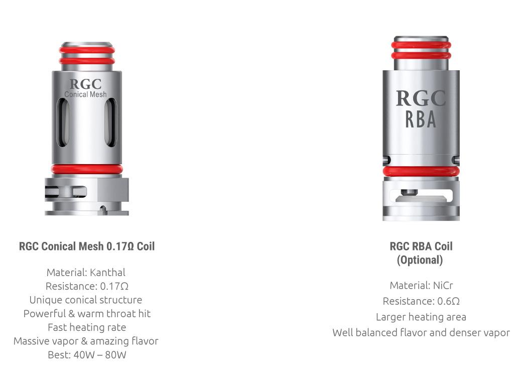 Smok RPM80 Pro Kit RGC Coils