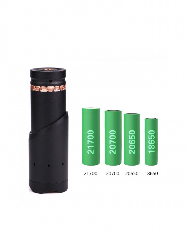 Bathala Mech Mod Battery Options