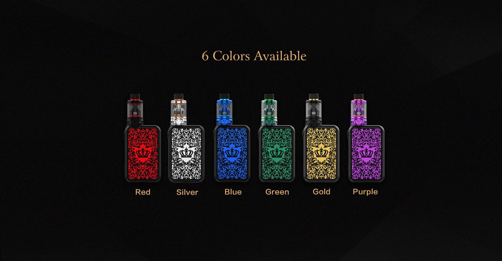 Uwell Crown IV Kit Colours