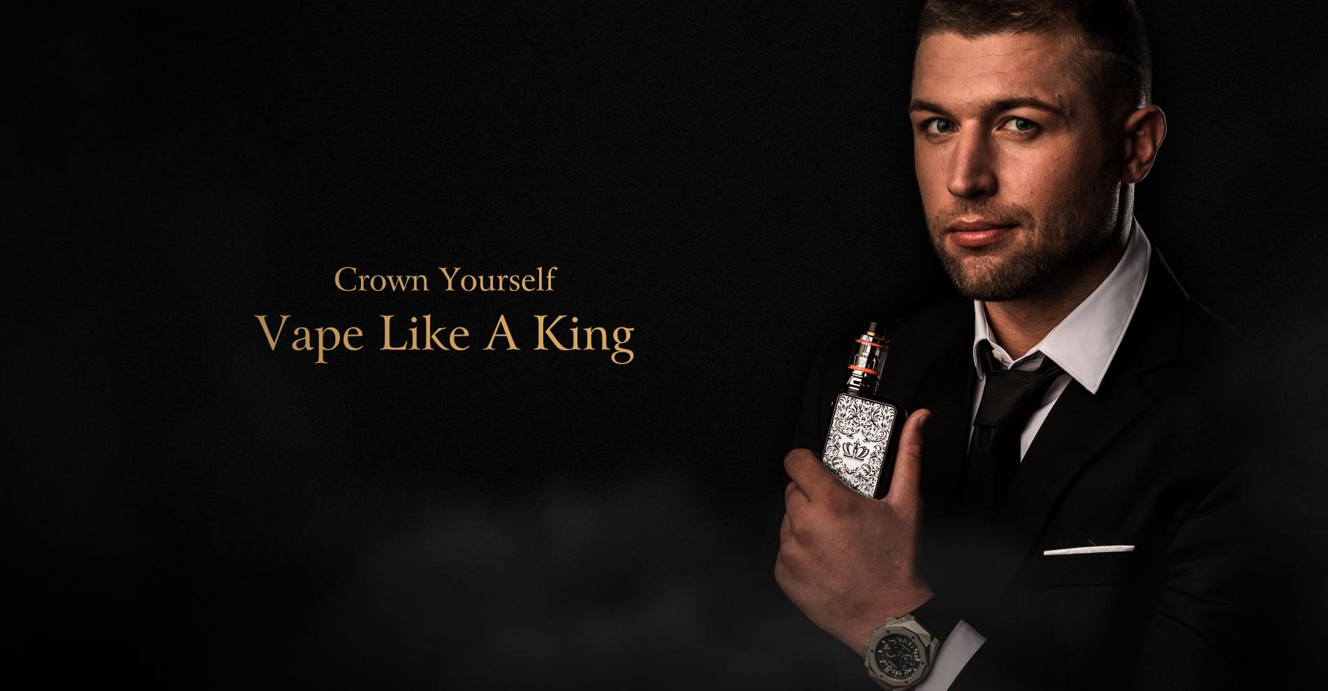Uwell Crown IV Kit Vape Like A King