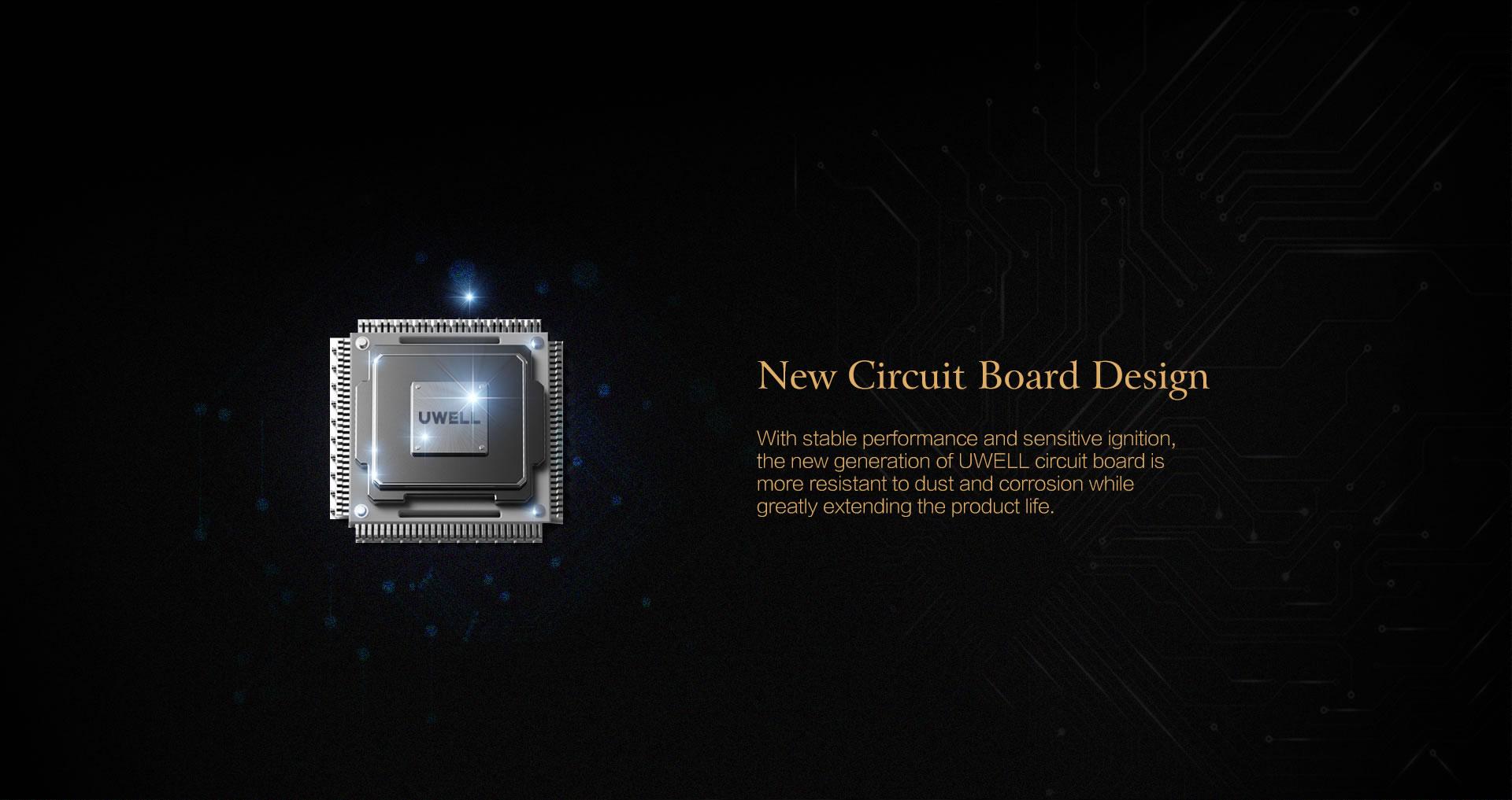 Uwell Crown IV Kit Chipset