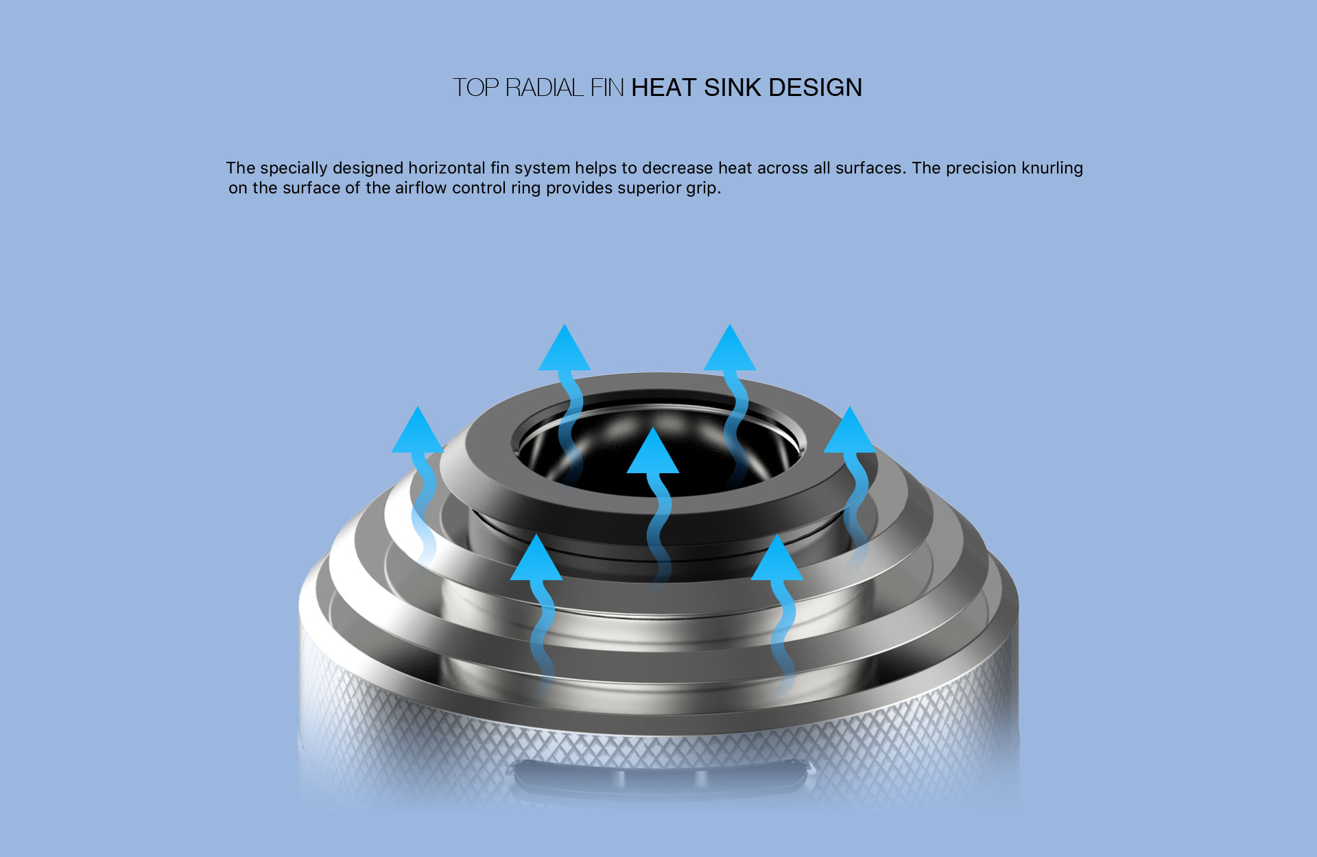 Aspire Nautilus XS Tank Heat Sink Design
