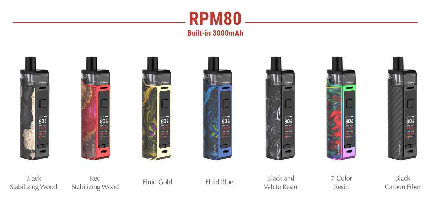 Smok RPM80 Kit Colours