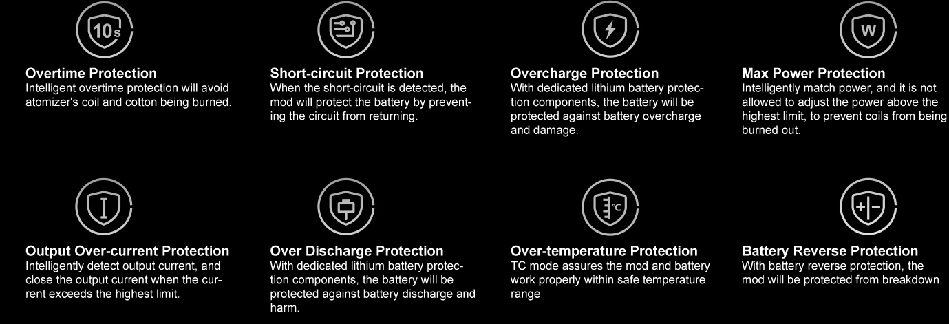 Voopoo Drag X Mod Pod Protections