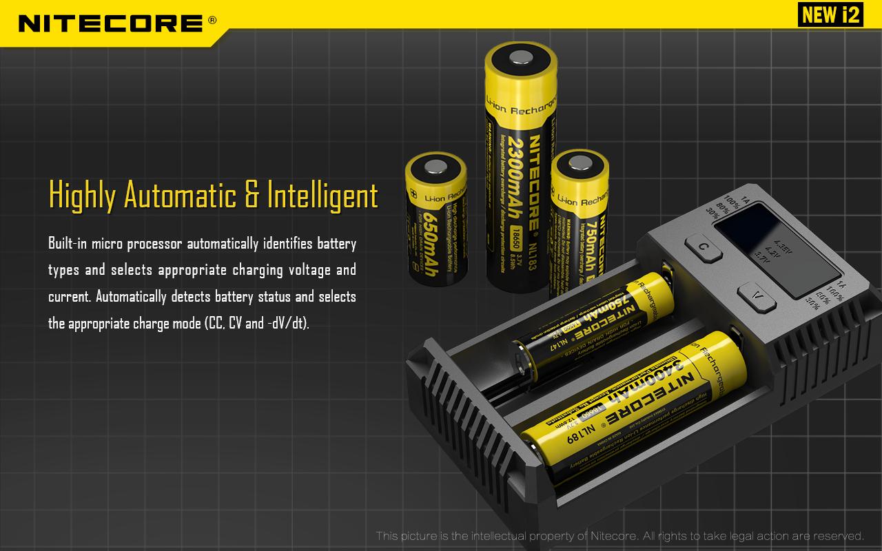 Nitecore i2 Highly Automatic