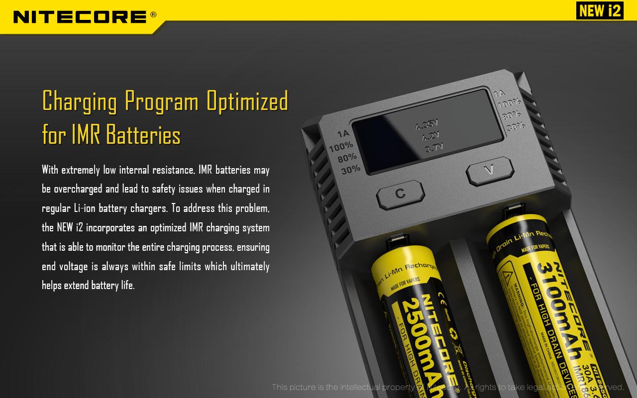Nitecore i2 Charging Program