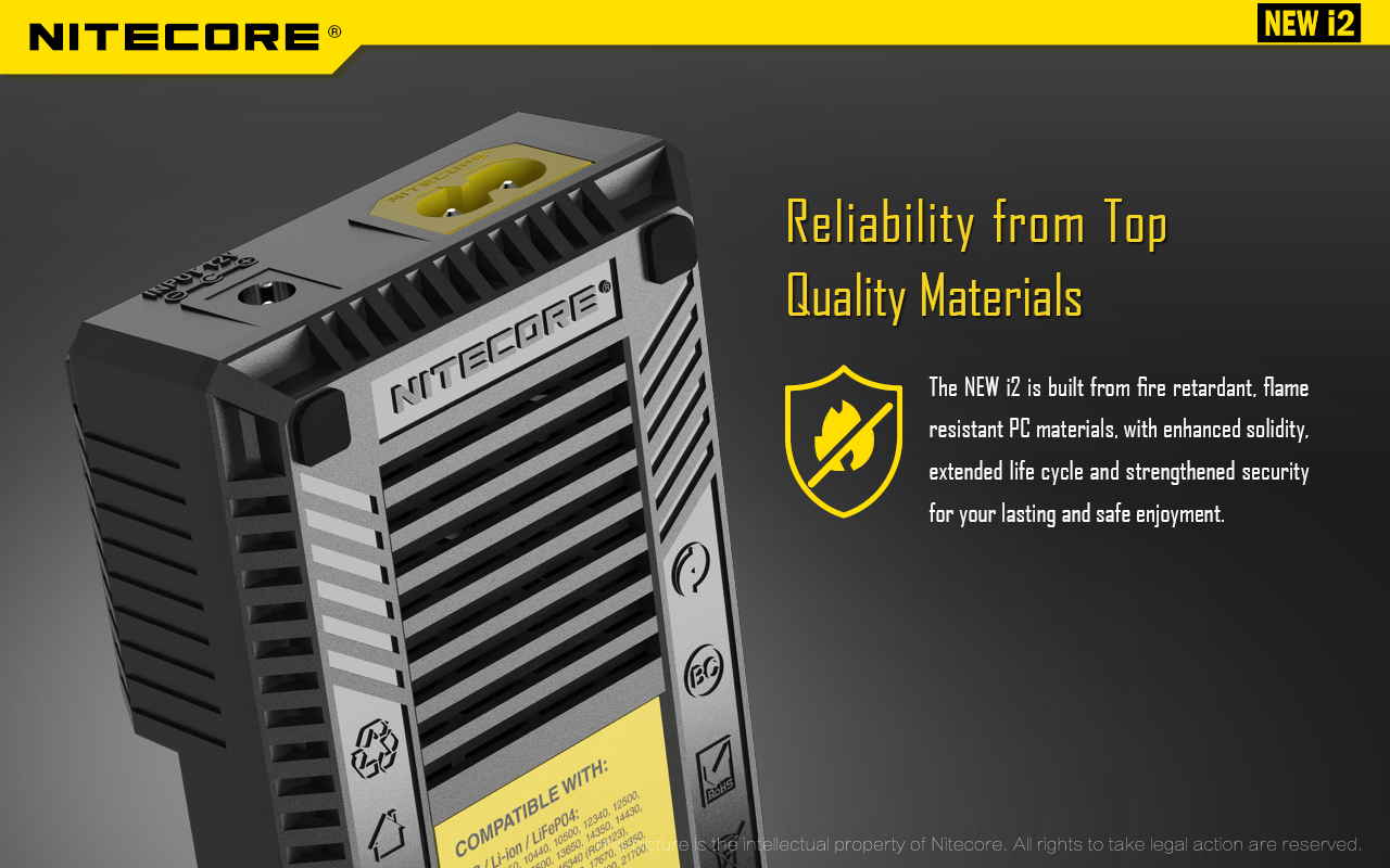 Nitecore i2 Reliability