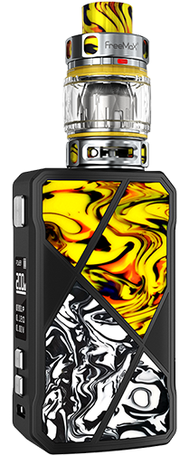 Freemax Maxus 200W Kit Yellow Black