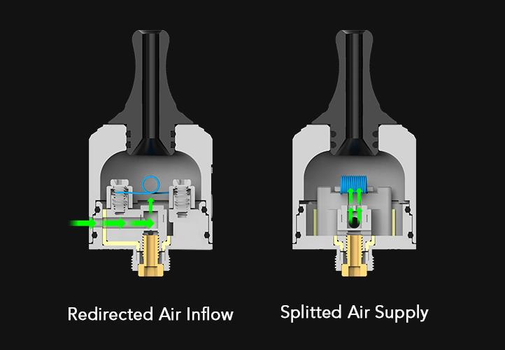 Wotofo STNG MTL RDA Airflow
