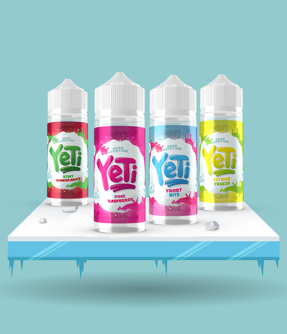 New Yeti Flavours